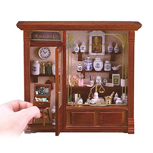 M.W. Reutter - Room Box Pharmacy Measurements article in cm (L/W/H): 24 x 8 x 21