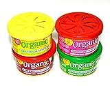L&D Organic Scent Pad Duftdose 4-er Pack Topseller MIX 1