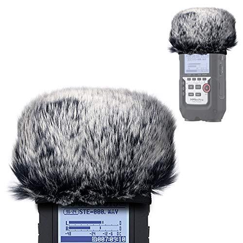 YOUSHARES - Microfono Peloso Parabrezza Outdoor Filtro Pop Microfono in schiuma per Zoom H4n Pro Handy Recorder