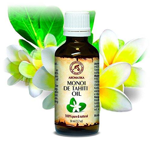 Aceite de Monoi de Tahiti 50ml - Cocos Nucifera - Francia - 100% Natural - Prensados en Frío -...