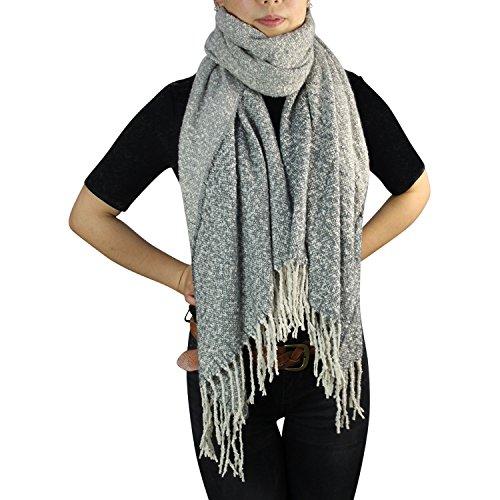 Glamexx24 XXL Lang Tuch , XXL Schal leichte Karo Scarf ,warme und weiche Qualitaet in verschiedenen Muster