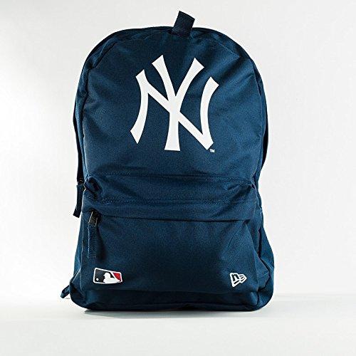 New Era MLB Stadium York Yankees Offical Team Rucksack Herren, Marineblau, FR: Einheitsgröße (Größe Hersteller: Futterbeutel Leckerli) Black OSFA