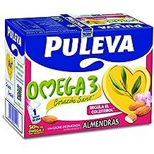 Puleva Omega 3 con Almendras - Pack 6 x 1 L