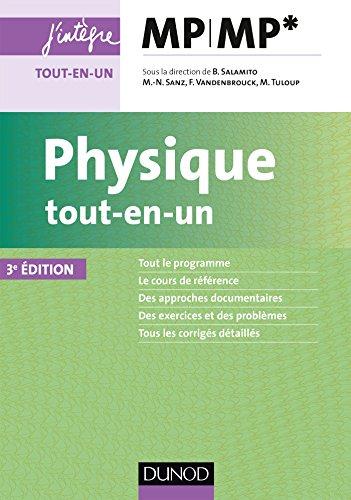 Physique tout-en-un MP-MP* - 3ed (Concours Ecoles d'ingénieurs)