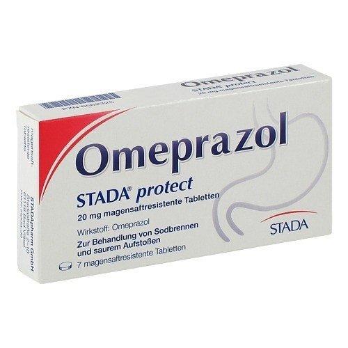 Omeprazol STADA protect 20mg 7 stk