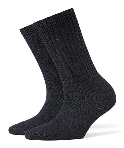 Burlington Damen Socken Plymouth Blickdicht, Blau (dark navy 6375) 36/41