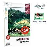 Schwarzwald Mühle Foto-Druckerpapier: 40 Bl. Hochglanz-Fotopapier Supreme exklusiv 270g/A4 (Photopapier)
