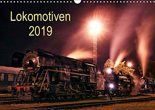 Lokomotiven 2019 (Wandkalender 2019 DIN A3 quer): Potraits und Details der Lokomotiven (Monatskalender, 14 Seiten ) (CALVENDO Technologie)