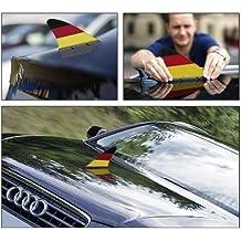 Deutschland-Fanflosse fürs Auto - magnetisch, DER Hingucker, made in Germany & DEKRA geprüft bis 180km/h