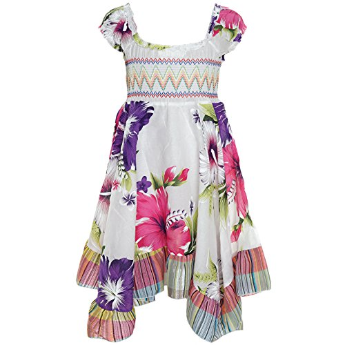 Lila Feen Kostüme (BEZLIT Mädchen Kinder Strand Abend Kleid Peticoat Festkleid Kurz Arm Kostüm 21100,)