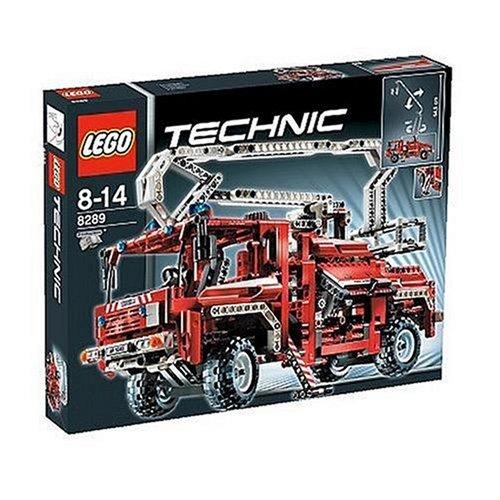 LEGO-Technic-8289-Firetruck