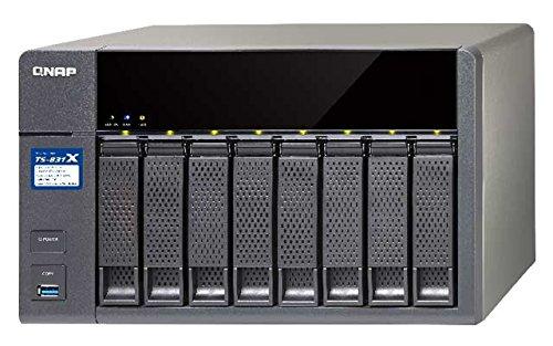 Qnap TS-831X-8G 1.4GHz QuadCore 8GB Ram 10GBit 8-Bay NAS- 8TB Bundle mit 4x 2TB Toshiba P300 HDWD120