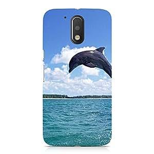 Hamee Designer Printed Hard Back Case Cover for Motorola Moto E3 Design 6013