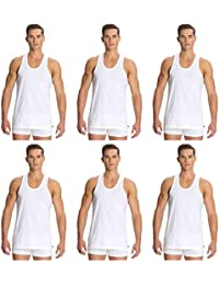 Jockey's Men's Cotton Vest (Pack of 6) (Modern Classic) - Style # 8820