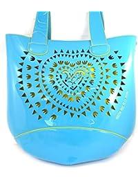 Bolsa 'french touch' 'Agatha Ruiz De La Prada'azul amarillo.