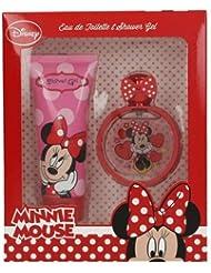 Disney Minnie Mouse Duo Set - Eau de Toilette 50 ml, Duschgel 100 ml, 1er Pack (1 x 0.345 kg)