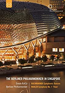 Rachmaninov/ Mahler: Berliner Philharmoniker (Live Recording Singapore) (Sir Simon Rattle, The Berliner Philharmoniker) (Euroarts: 2058908) [DVD] [2013] [NTSC]
