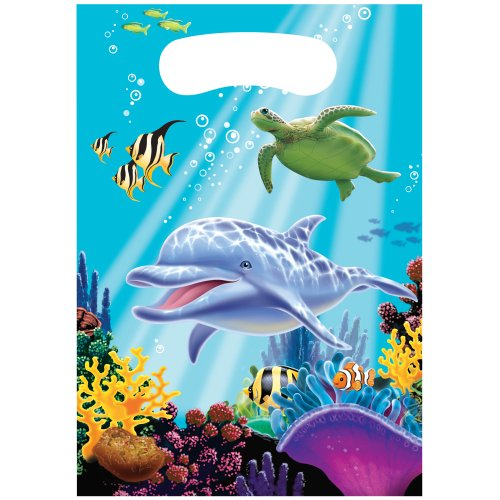 Creative Converting Ocean Party 8Zählen Party Favor Geschenktüten (Banner Birthday Nemo)