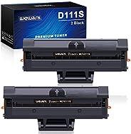 Wewant Toner D111S Reemplazo para Samsung MLT-D111S D111L Cartucho de Tóner Compatible con Samsung Xpress SL M