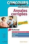 Concours Aide-soignant - Annales corrigées - IFAS 2018/2019: Ecrit et Oral par Gassier