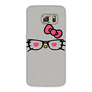 Neo World Pink Bow Back Case Cover for Samsung Galaxy S6 Edge