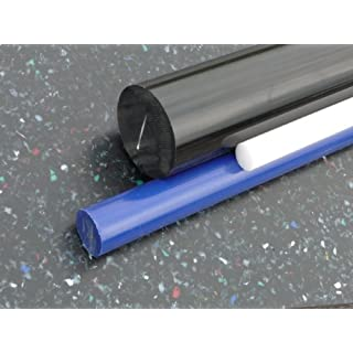 Rundstab aus POM blau Ø 25 mm, Lang 500 mm Kunststoffrundstab alt-intech®