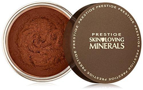 Prestige Cosmetics Skin Loving Minerals Gentle Finish Mineral Powder Foundation, Warm Mocha, 0.23 Ounce by Prestige Cosmetics