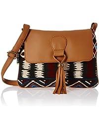 Kanvas Katha Women's Sling Bag (Multicolor) (KKSNJQ029)