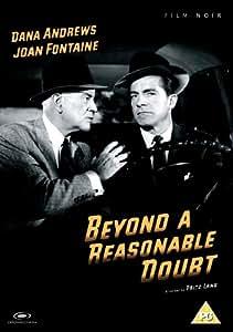 Beyond a Reasonable Doubt (1956) DVD