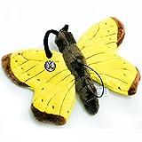 Schmetterling METTY Falter gelb 25 cm Plüschtier von kuscheltiere.biz