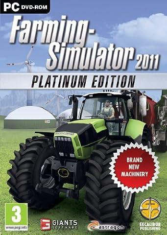 Farming Simulator 2011 - The Platinum Edition (PC DVD)