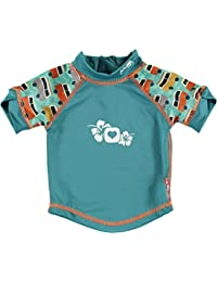 Close Parent 25888 - Camiseta de baño con protección UV, diseño Caravana, talla L (18-24 meses), color verde