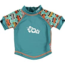 Close Parent 25888 - Camiseta de baño con protección UV, diseño Caravana, talla L (18-24 meses), color verde