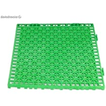 Grupo Contact Suelo Formato losetas para vestuarios en Color Verde, filtrante (30 x 30