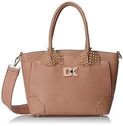 Diana Korr Womens Handbag (Beige) (DK102HBEI)