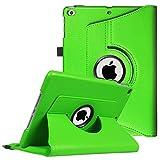 Fintie iPad 9.7 Zoll 2018 2017 / iPad Air Hülle - 360 Grad Rotierend Stand Cover Case Schutzhülle mit Auto Schlaf/Wach Funktion für Apple iPad 9,7'' 2018 2017 / iPad Air 2 / iPad Air, Grün