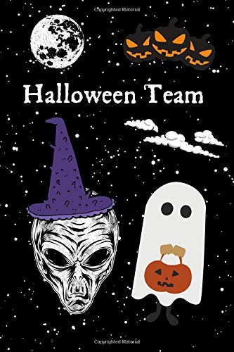 Halloween Team: A Blank Lined Journal For The Halloween Team