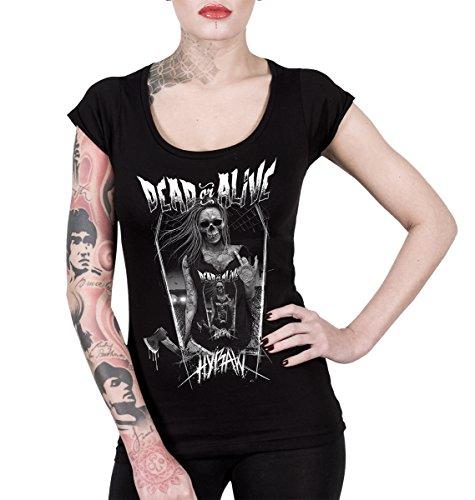 Hyraw -  T-shirt - Donna Black Large
