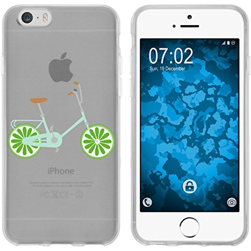 PhoneNatic Apple iPhone 6s / 6 Coque en Silicone Bike M3 Case iPhone 6s / 6 + films de protection Motif 2