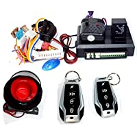 Universal Car Alarm systems with 500 Meter Range 2 Remote Control Key