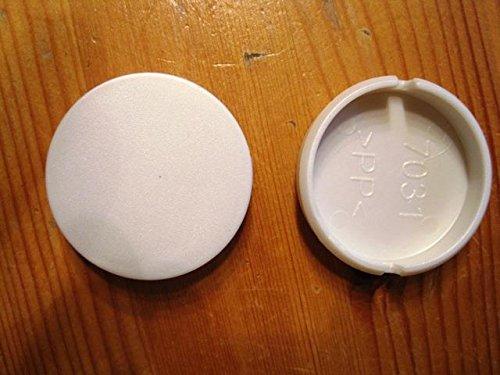 Peg Perego 1 Stück Radkappe Abdeckkappe weiß für Rad Pliko P 3 (11) für Modelle 2011 bis 2012