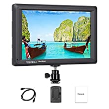Feelworld FW279 7 Inch Ultra Bright On Camera Field Monitor DSLR Focus Video Assist Full HD 1920x1200 IPS with 4K HDMI Input Output 2200nit High Brightness
