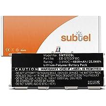 subtel® Batería premium para Samsung Galaxy Tab 4 10.1 (SM-T530/SM-T531/SM-T533/SM-T535) (6800mAh) EB-BT530FBU bateria de repuesto, pila reemplazo, sustitución