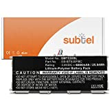 subtel Batería premium para Samsung Galaxy Tab 4 10.1 (SM-T530/SM-T531/SM-T533/SM-T535) (6800mAh)...