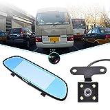 Anna-neek Auto Kamera dashcam Vorne und Hinten Hinten Kabel Spiegel 1080p mit Dual Lens Auto Vorne Hinten 7
