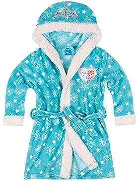 Disney El reino del hielo Chicas Bata de baño con capucha Coral fleece - Turqueza