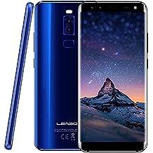 "Mobile Phones - Leagoo S8, 5.72"" screen 13MP main camera RAM 3GB+ROM 32GB 64GB extended, Octa Core 1.5GHz CPU, Android 7.0 2940mAh, Rear fingerprint unlocked, leagoo mobile phone from Leagoo Direct,Blue"