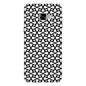 Abhivyakti Abstract Abstract Black White Hard Back Case Cover For Samsung C5