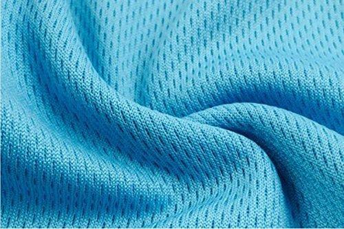 JFIN Femmes Forme U Brassière Mélange De Polyester Pro Classique Rembourré Gris Indy Pro Blue