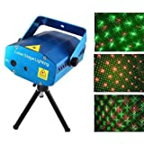 CITRA Mini Laser Projector Stage Lighting Sound Activated Laser Light for Party